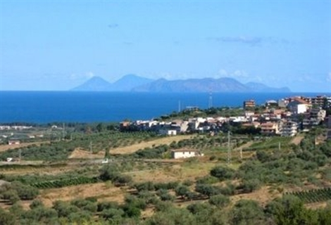Veduta isole Eolie