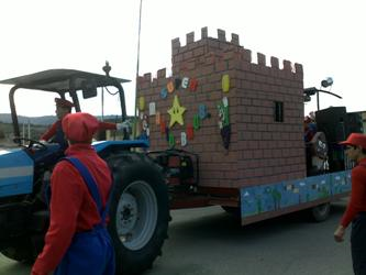 Carro allegorico 2012 - Super Mario Bros