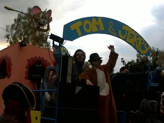Carro allegorico 2012 - Tom & Jerry